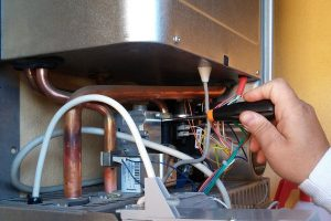 boiler servicing Chase Cross
